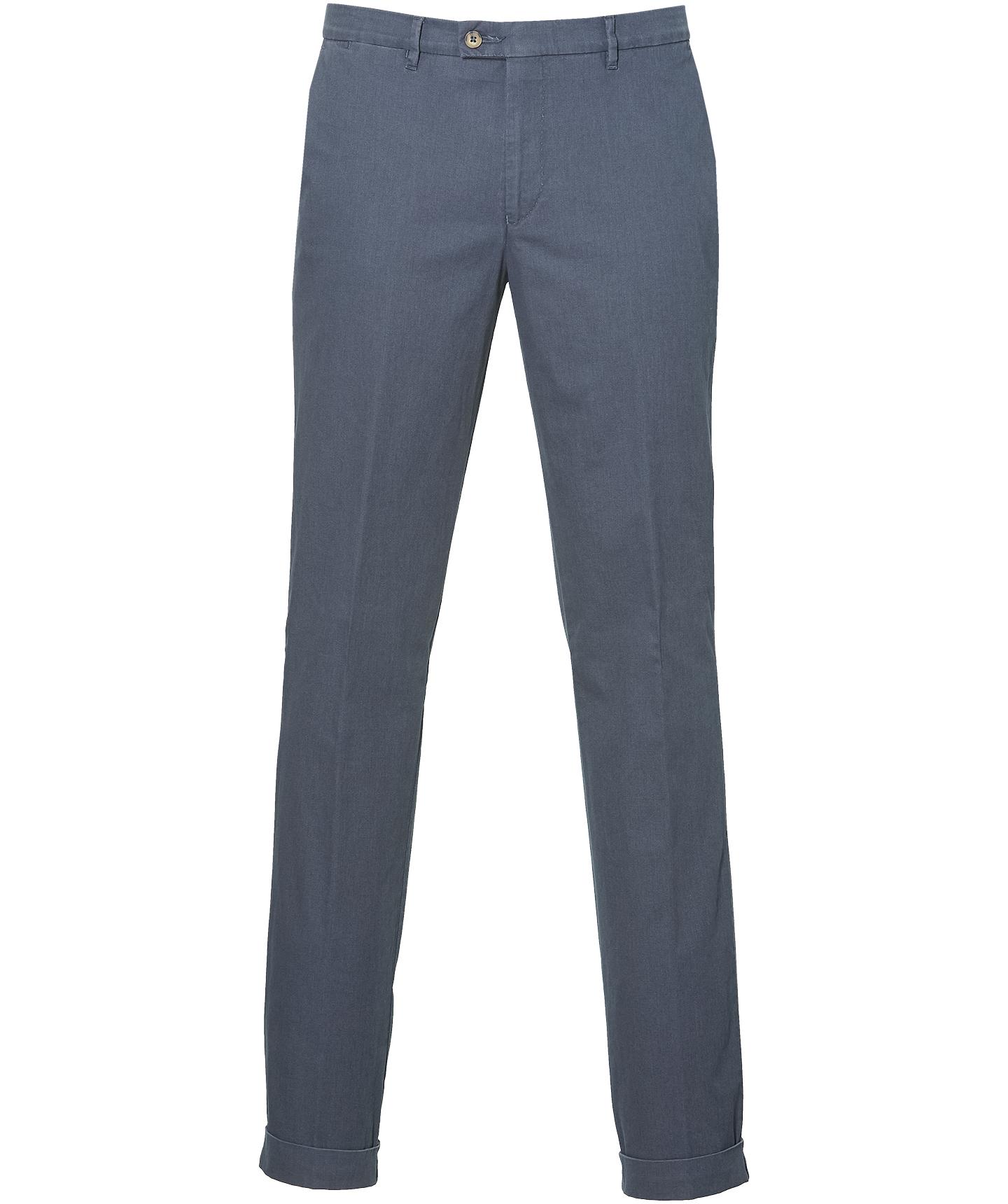Sale - Hensen Pantalon - Slim Fit - Blauw
