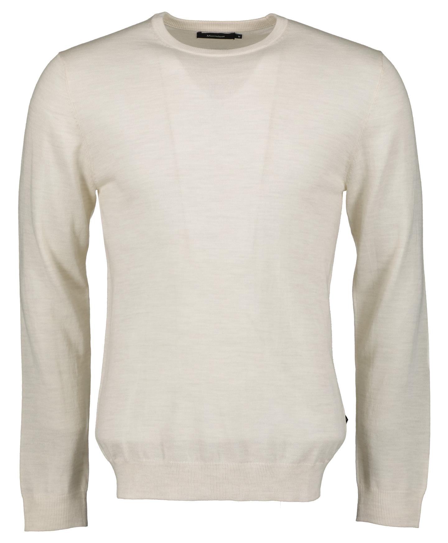 Matinique Pullover - Slim Fit - Beige