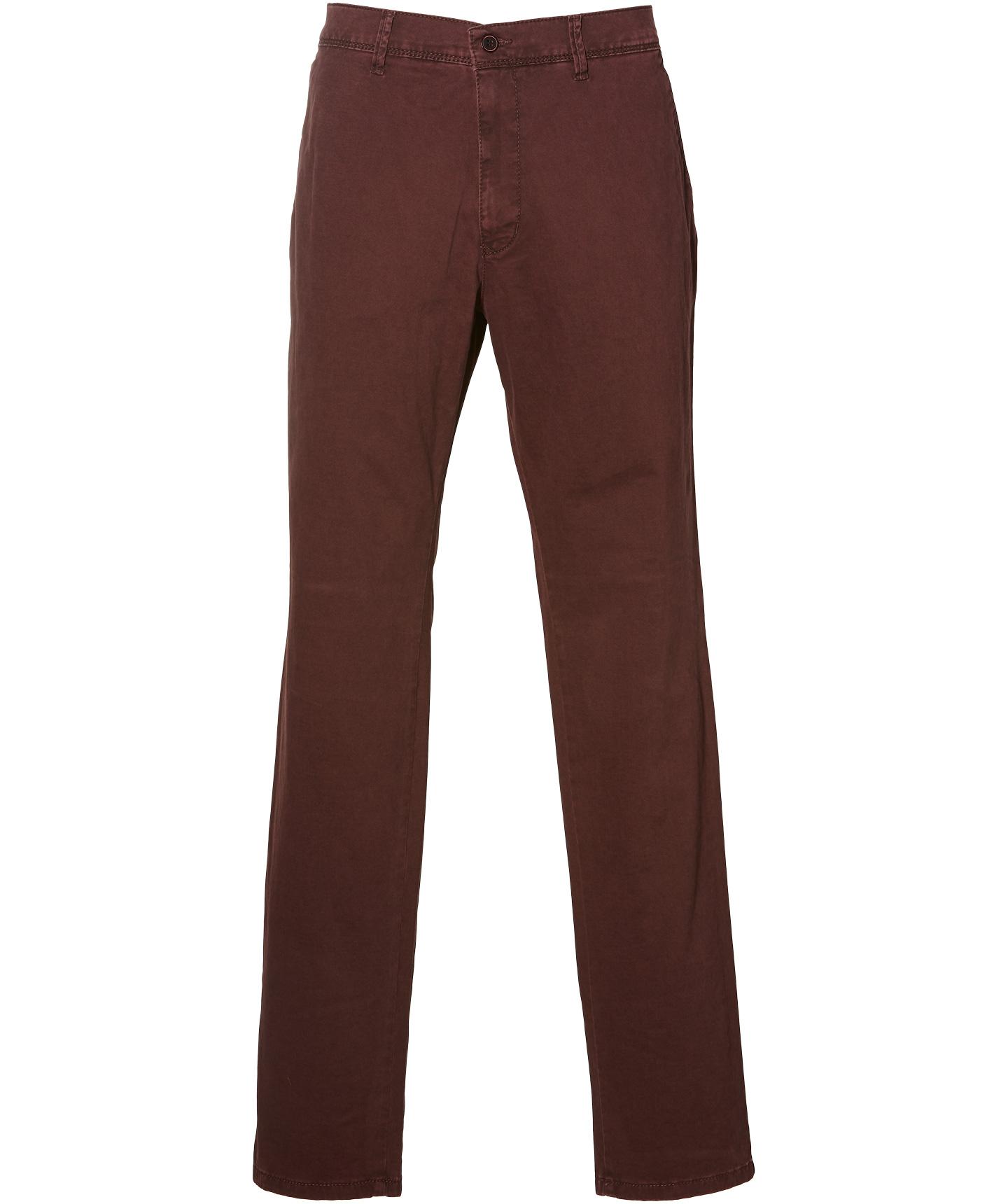 Sale - Pionier Pantalon Robert - Regular Fit - Rood