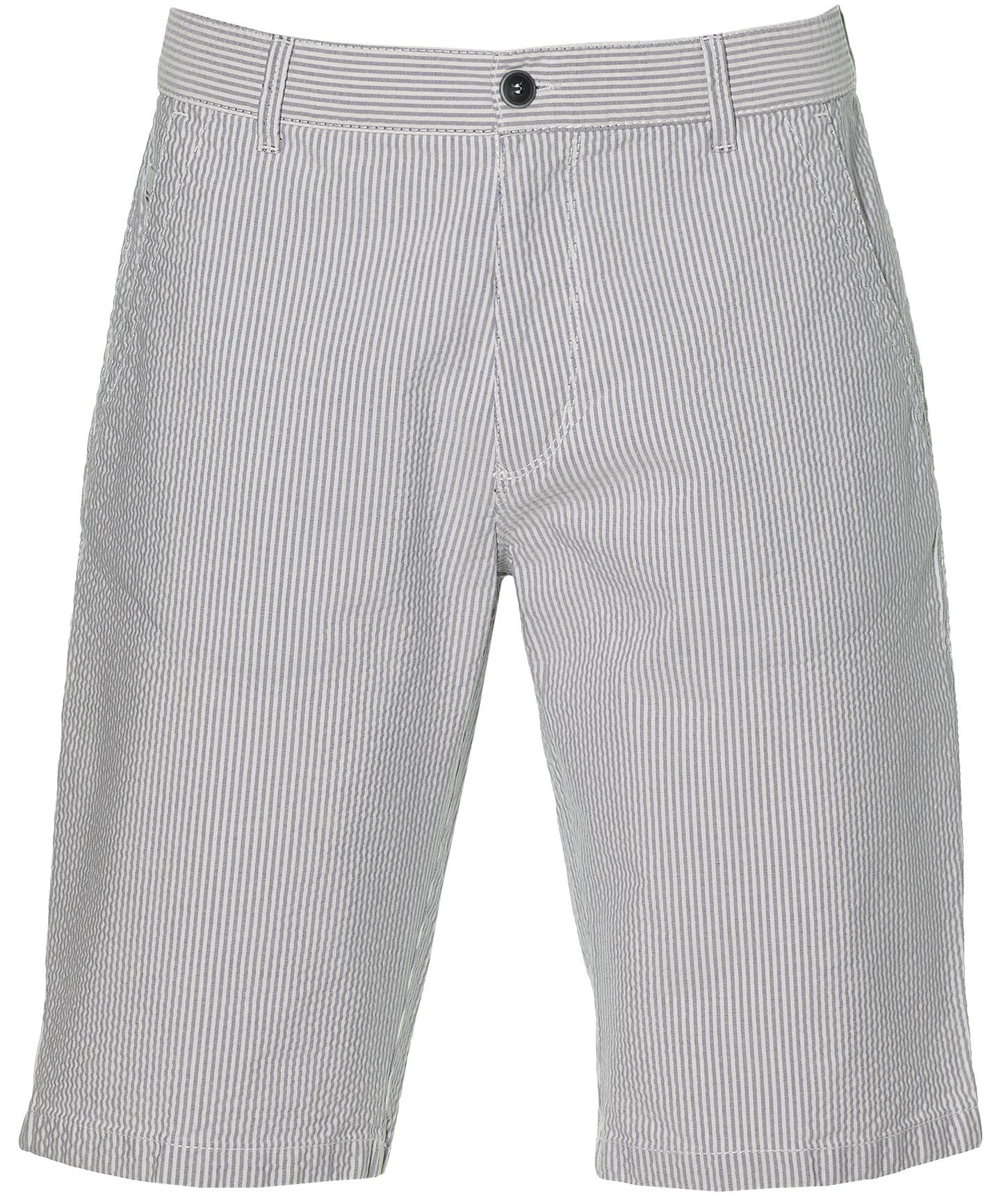 Pionier Short Luca - Regular Fit - Blauw