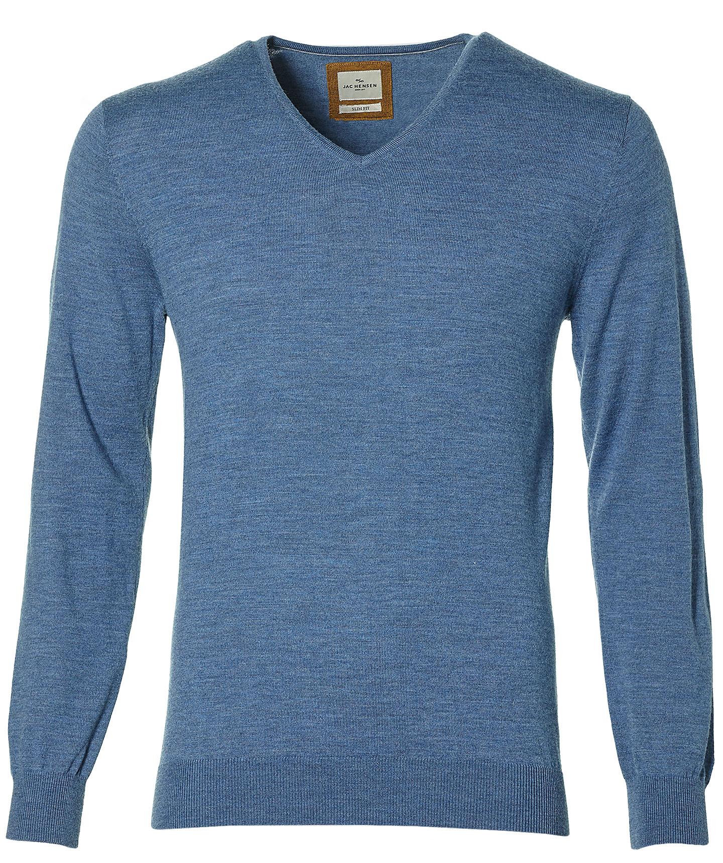 Jac Hensen Premium Pullover -slim Fit - Blauw