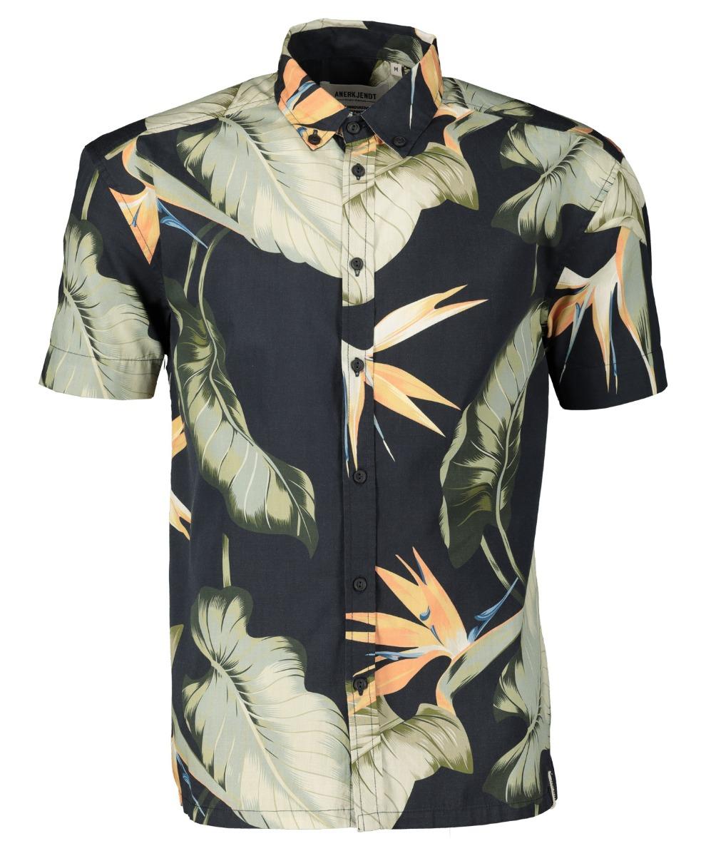 Ankerkjendt Overhemd - Slim Fit - Groen