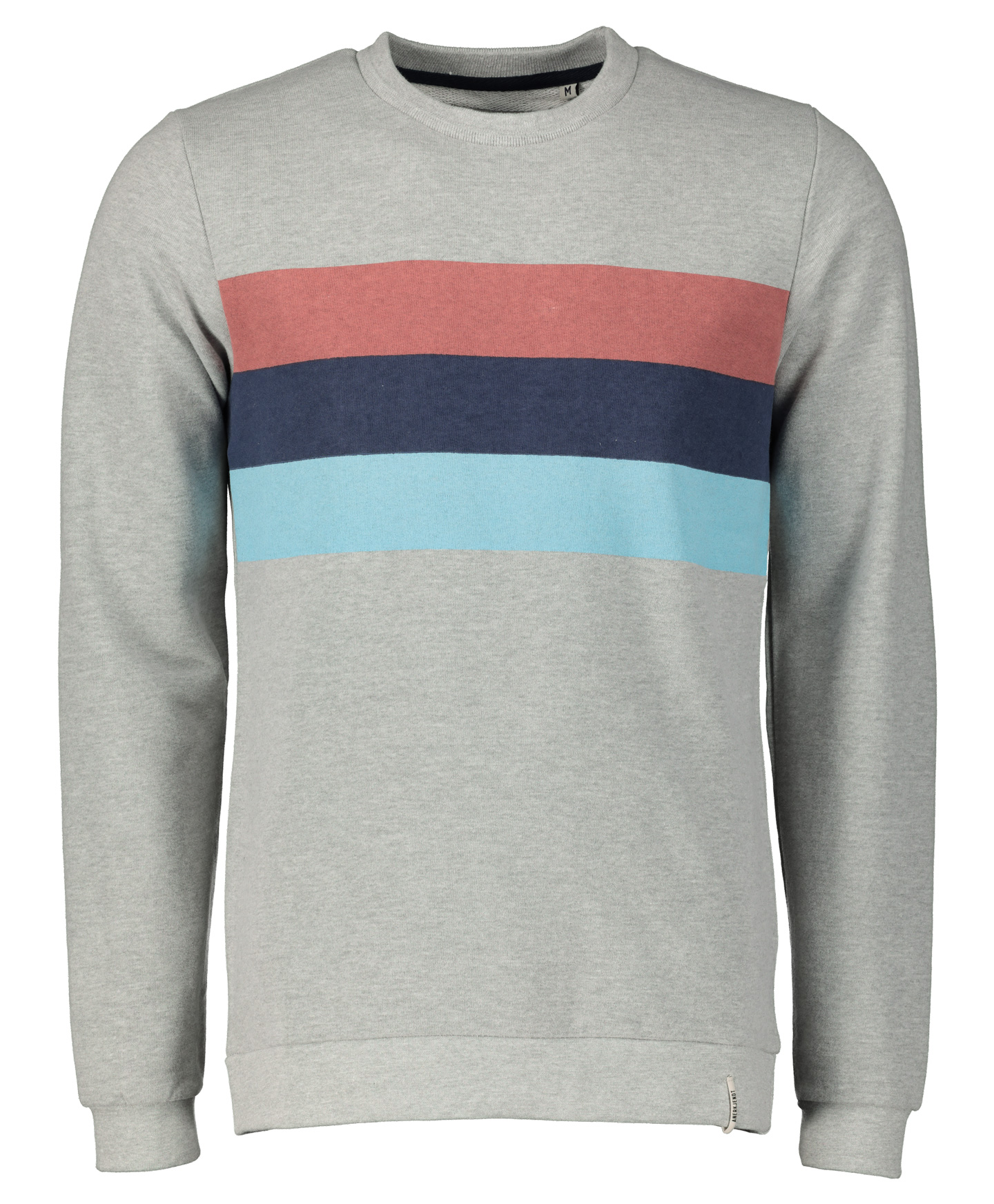 Anerkjendt Sweater - Slim Fit - Grijs