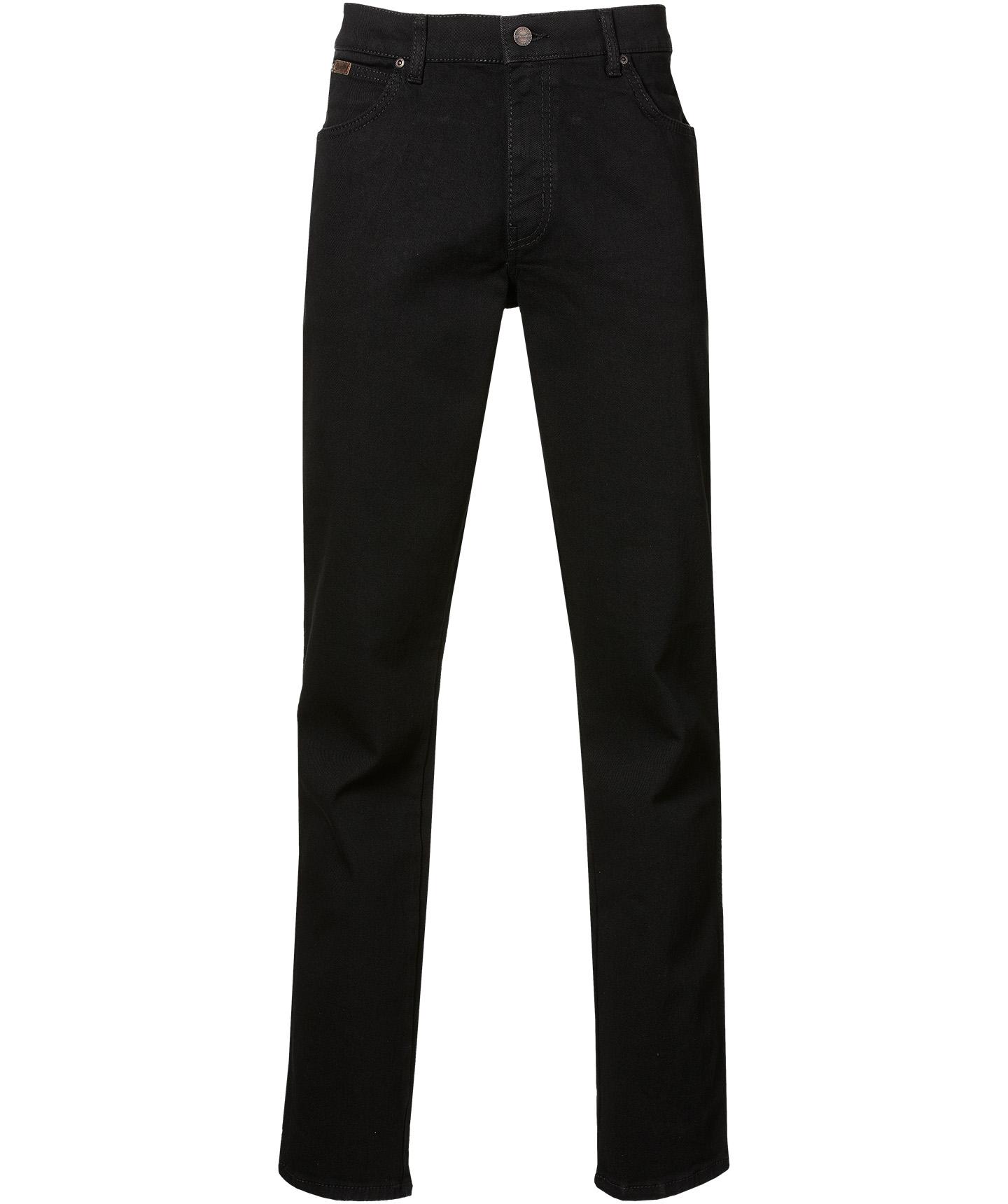 Wrangler Jeans Texas - Regular Fit - Zwart