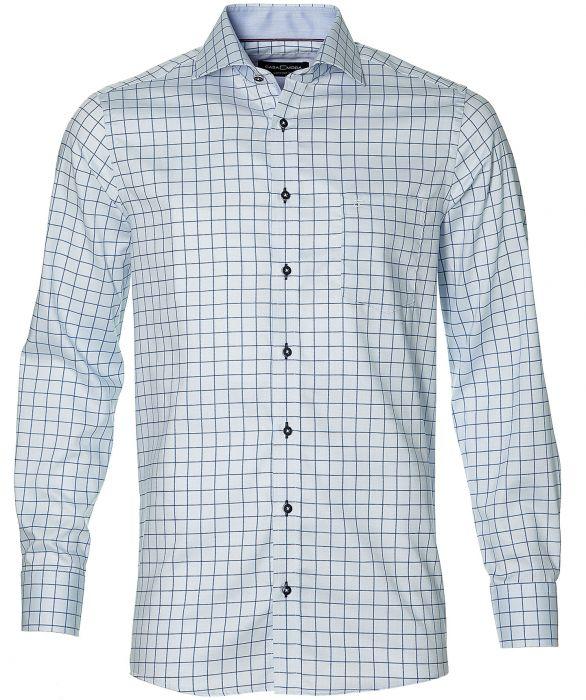 Casa Moda overhemd regular fit blauw   Herenkleding