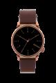 Komono horloge - bruin