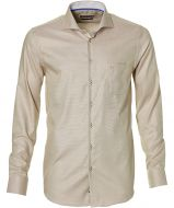 sale - Ledub overhemd - modern fit - beige