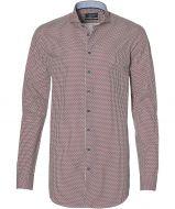 Ledub overhemd - extra lang - rood