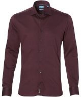sale - British Indigo overhemd - slim fit - rood