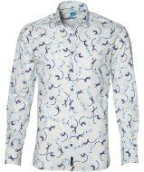 British Indigo overhemd - slim fit - wit