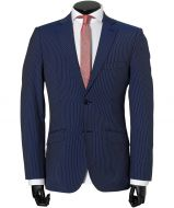 sale - Calabria kostuum - modern fit - blauw