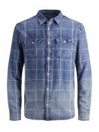 Jack & Jones overhemd - regular fit - blauw