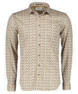 No Excess overhemd - modern fit - beige