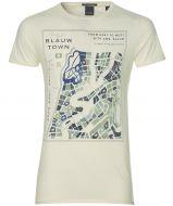 Scotch & Soda t-shirt - slim fit - ecru