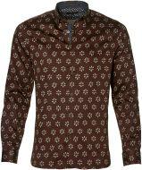 Ted Baker overhemd - slim fit - bruin