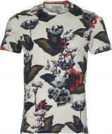 Ted Baker t-shirt - slim fit - grijs