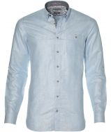 Ted Baker overhemd - extra lang - blauw