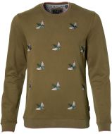 Ted Baker pullover - slim fit - groen