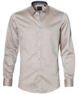sale - Venti overhemd - slim fit - beige