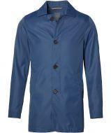 Nils regenjas - slim fit - blauw