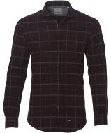 Hensen overhemd - slim fit - bordo