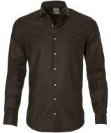 Jac Hensen Premium overhemd -slim fit- bruin