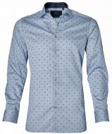 Nils overhemd - slilm fit - blauw