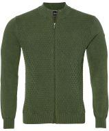 sale - Jac Hensen vest - modern fit - groen