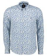 Lerros overhemd - regular fit - blauw