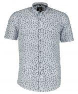 Lerros overhemd - regular fit - wit