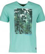 Lerros t-shirt - regular fit - groen