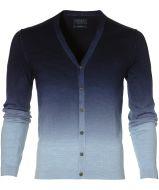sale - Nils vest - slim fit - blauw