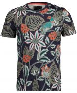 Ted Baker t-shirt - slim fit - blauw