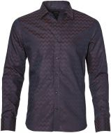 sale - Matinique overhemd - slim fit - bordeaux