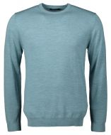 Matinique pullover - slim fit - blauw aqua