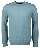 Matinique pullover - slim fit - blauw aqua