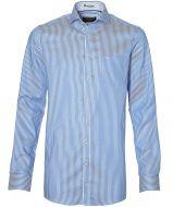 Casa Moda overhemd - extra lang - blauw