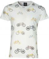 Lion t-shirt - slim fit - wit
