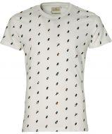 Hensen t-shirt - extra lang - wit