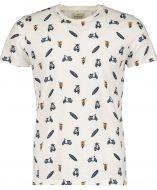 Hensen t-shirt - slim fit - ecru