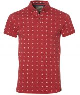 sale - No Excess polo - slim fit - rood