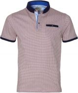 Hensen polo - slim fit - rood