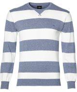 Jac Hensen pullover - modern fit- blauw