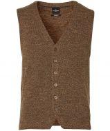 Jac Hensen gilet - modern fit - bruin