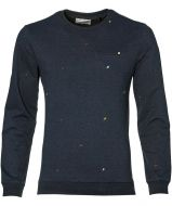 No Excess pullover - modern fit - blauw