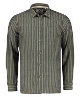 Anerkjendt overhemd - slim fit - bruin