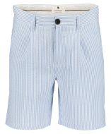 Anerkjendt short - slilm fit - blauw