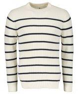 Anerkjendt pullover - modern fit - wit