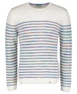 Colours & Sons pullover - modern fit - wit