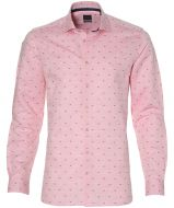 Nils overhemd - extra lang - roze